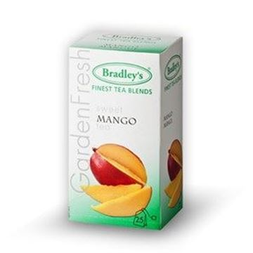 Billede af Bradley's Te breve<br/> Mango te.<br/>100 breve.