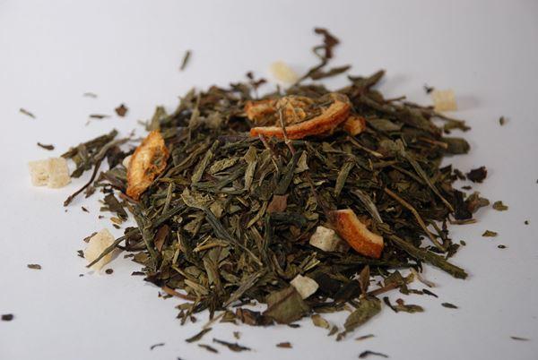 Billede af Grøn & Hvid te 1 Kg.