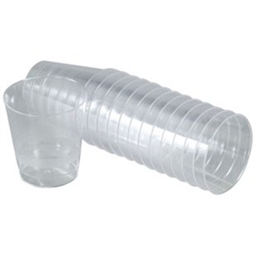 Billede af Plastikglas<br/> 3 cl x 1000 stk