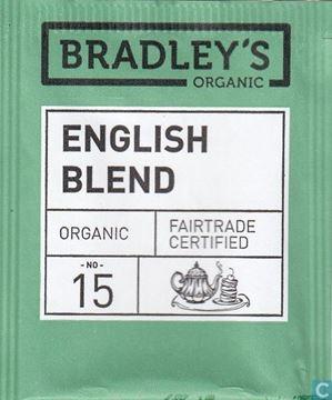 Billede af Bradley's Te breve English Blend Økologisk.<br/>100 breve.