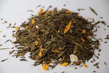 Billede af Grøn te m/mango 1 Kg.