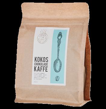 Billede af Kokos Chokolade Kaffe<br/>10 x 250 g